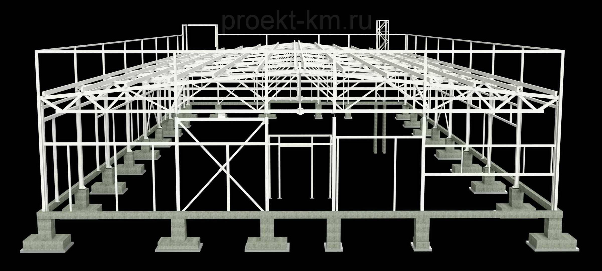 Заказать проект металлоконструкций
