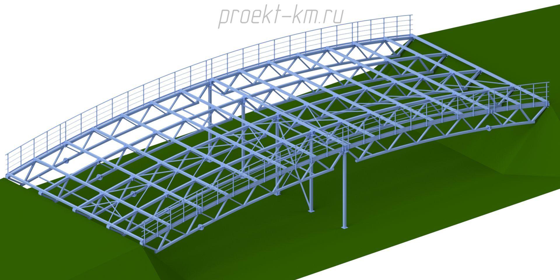 Лыжный мост