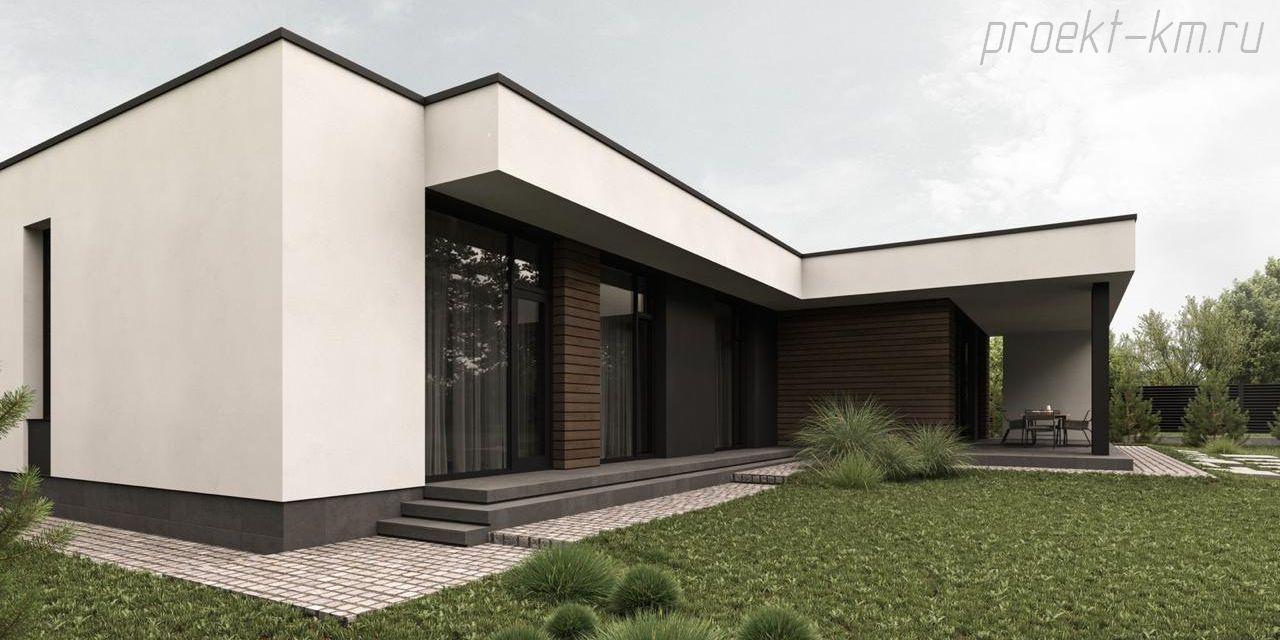 Жилой дом из металлоконструкций