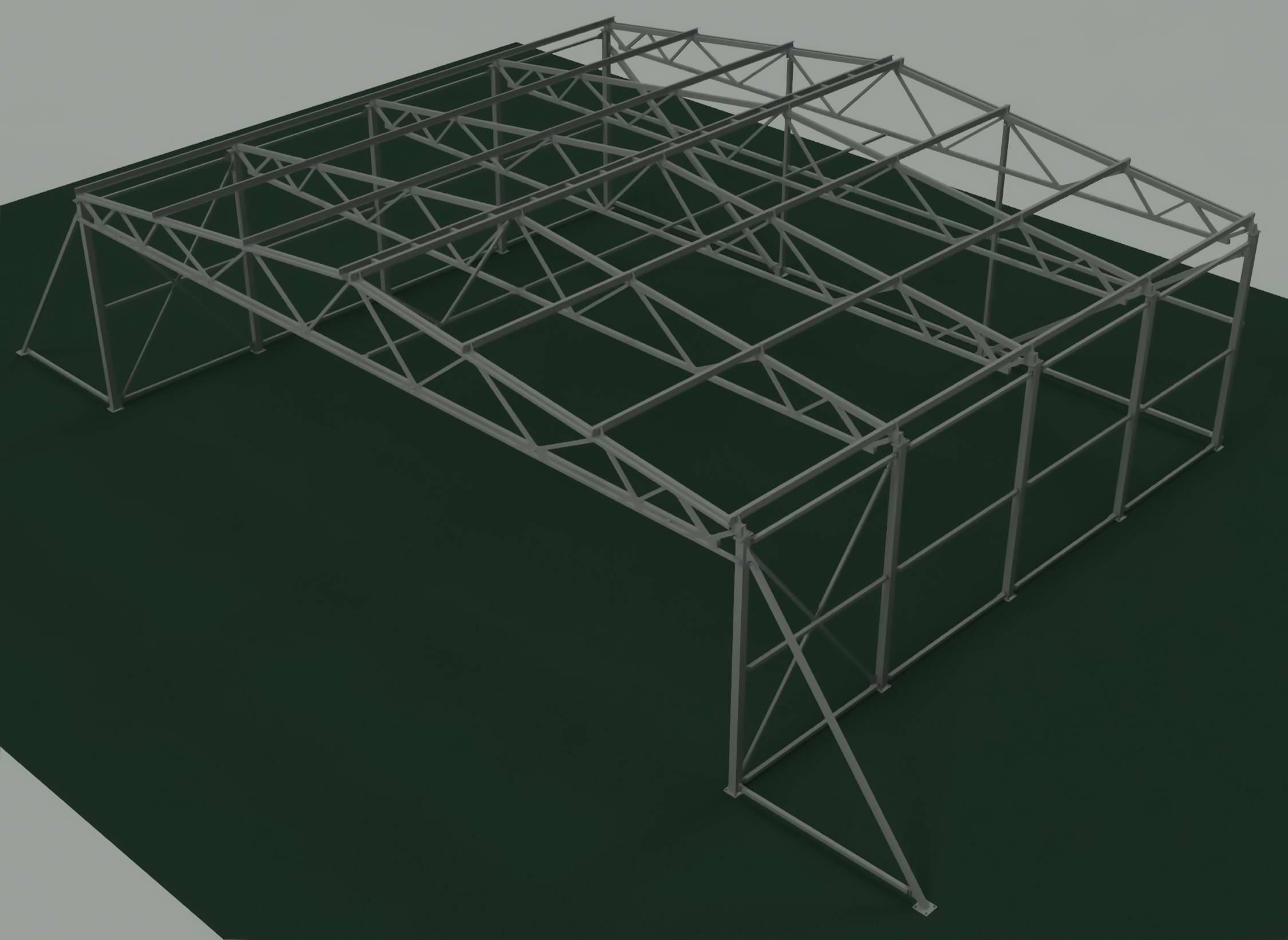 Чертежи для строительства ангара