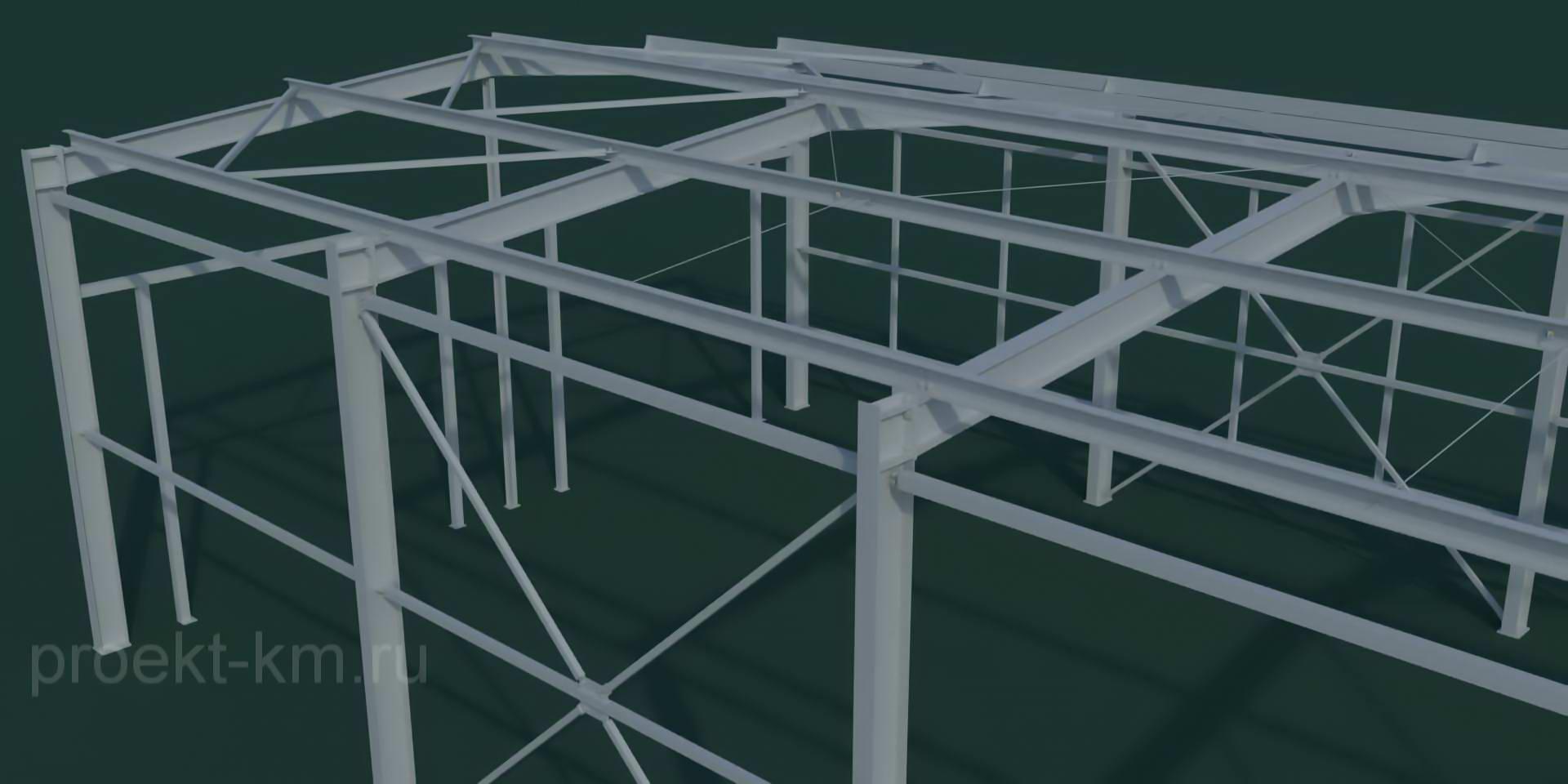 Построить быстровозводимое здание из металлоконструкций