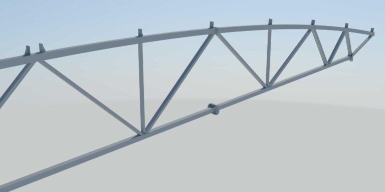 Проектирование и расчет металлических ферм всех разновидностей