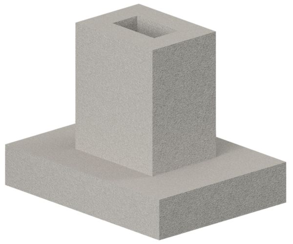 Фундамент под жб колонны