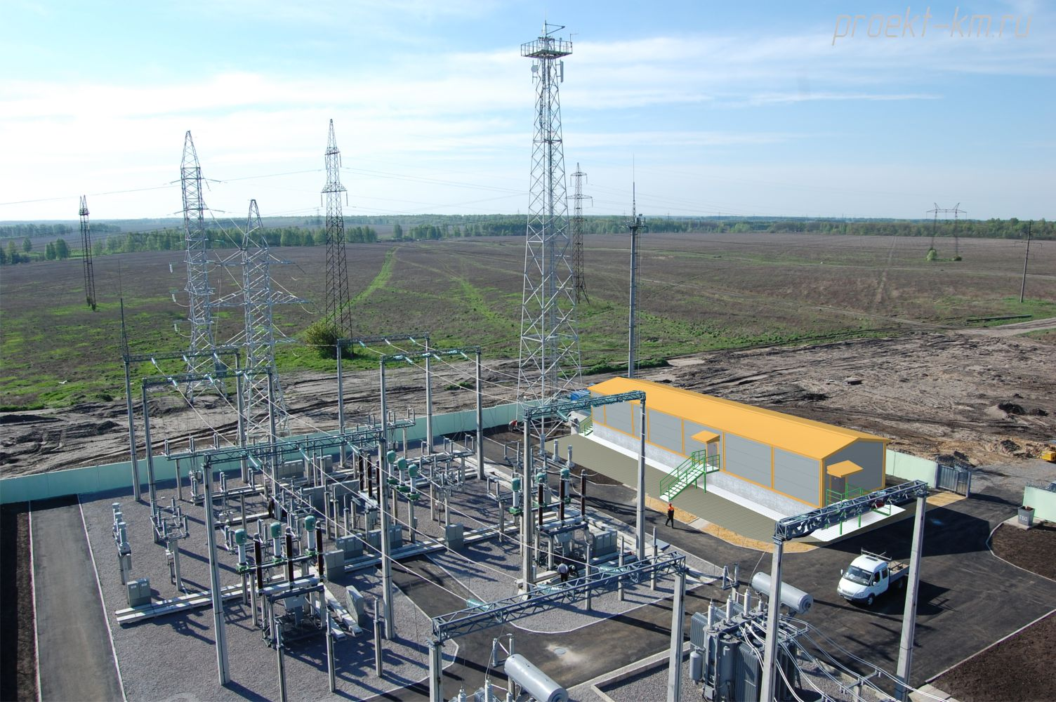 Проект электростанции